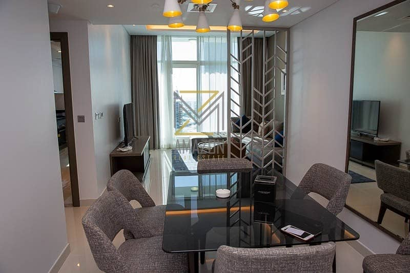 Canal Views | 2 Bedroom with Balcony | FULYY FURNISHED | Ready to Move In - Damac Maison Prive