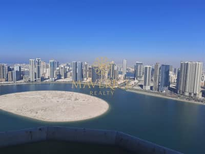 4 Bedroom Apartment for Rent in Al Mamzar, Sharjah - AC Free | Sea View 4BHK+Maids/R | Best Price