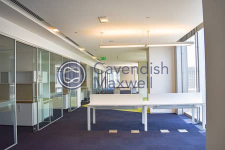 Office for Rent in Sheikh Zayed Road, Dubai - Partitioned Office | Grade A | Next to Metro