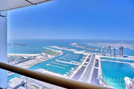 4 Bedroom Apartment for Sale in Dubai Marina, Dubai - Full Sea Views | Front Facing | 4 Beds | Maids