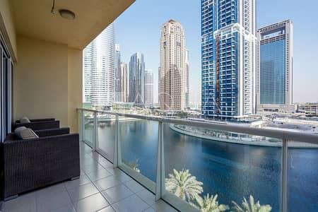 فلیٹ 2 غرفة نوم للايجار في أبراج بحيرات الجميرا، دبي - Upgraded | Huge Layout | Lake View Unit