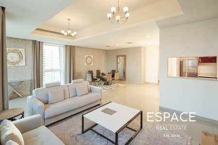 شقة 2 غرفة نوم للايجار في دبي مارينا، دبي - Hotel Apartment | 2 Beds | Modern Finish
