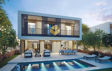 فیلا 5 غرف نوم للبيع في تلال الغاف، دبي - Luxury Villa 5 BR With Garden Suite | Stand Alone Villa In  Lagoon Community  | Easy Payment Plan