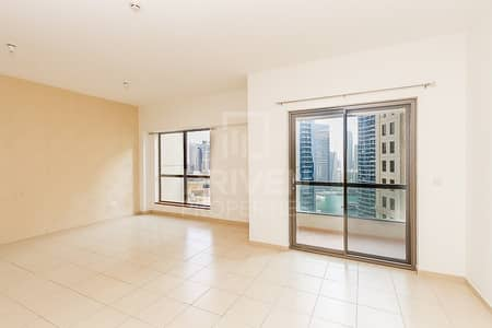 2 Bedroom Flat for Rent in Jumeirah Beach Residence (JBR), Dubai - Spacious Apartment with Best Marina View