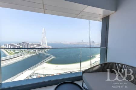 2 Bedroom Flat for Rent in Jumeirah Beach Residence (JBR), Dubai - Unfurnished | Full Seaview | High Floor