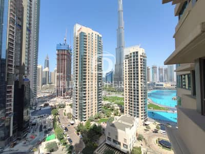 2 Bedroom Apartment for Sale in Business Bay, Dubai - Burj and Fountain view | Mid floor | Vacant now