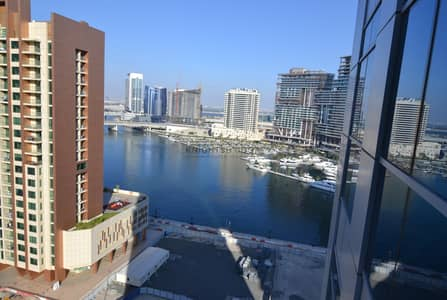 2 Bedroom Flat for Rent in Business Bay, Dubai - 2 Bed + Study | Canal & Burj View | 1 month Free