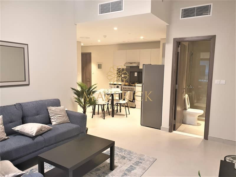 2 Brand New 1BR | 2 Balconies | Pool View