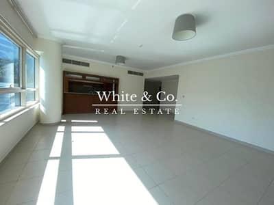 فلیٹ 3 غرف نوم للايجار في دبي مارينا، دبي - INCREDIBLE VIEWS 3 BR+MAID / SEMI OPEN KITCHEN