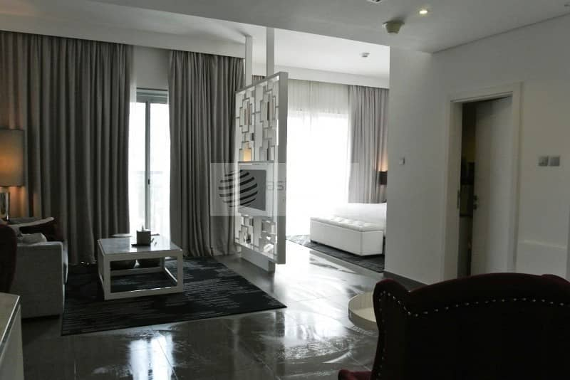 2 1 Bedroom Hotel Apt | Fully Furnished |Marina View