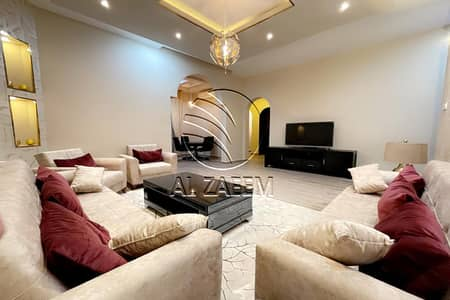 3 Bedroom Apartment for Rent in Al Karamah, Abu Dhabi - Fully furnished 3BR apartment in a Villa