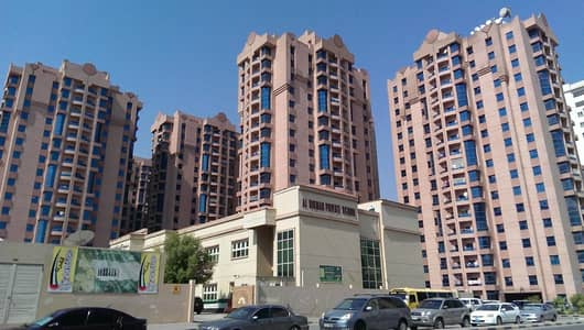 2 Bedroom Apartment for Rent in Al Nuaimiya, Ajman - BIG SIZE 2 BEDROOMS HALL WITH MAID ROOM 1813 SQFT
