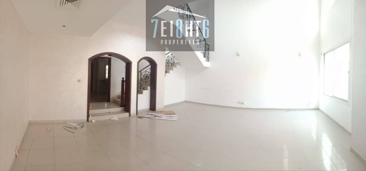 2 Outstanding property:  4 b/r good quality semi-independent villa + maids room + sharing s/pool + large garden