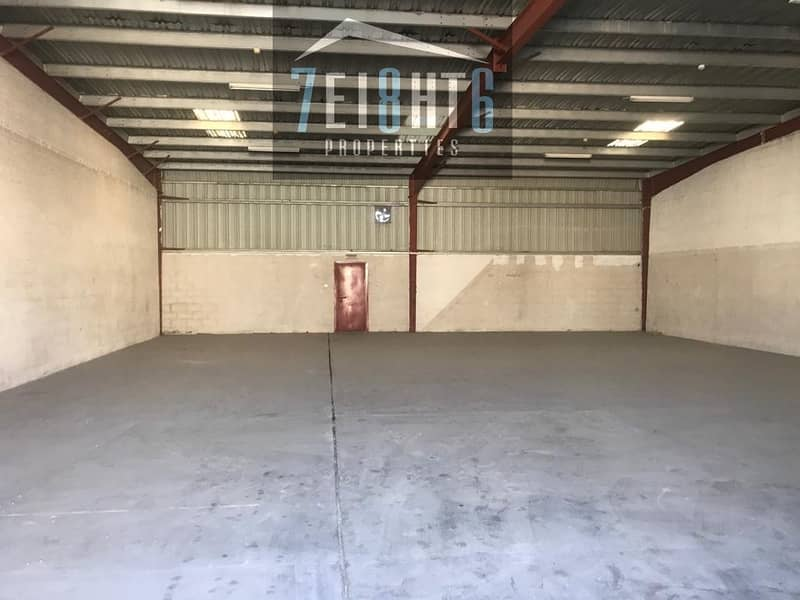 10 000 sq ft whouse for use for rent in Al Quoz