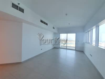 2 Bedroom Apartment for Rent in Corniche Road, Abu Dhabi - balcony facing Sea | Perfect family home