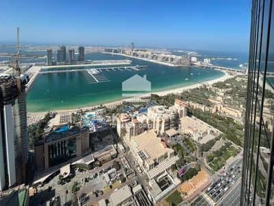 3 Bedroom Apartment for Rent in Dubai Marina, Dubai - Breathtaking view I  Spacious and bright I Balcony