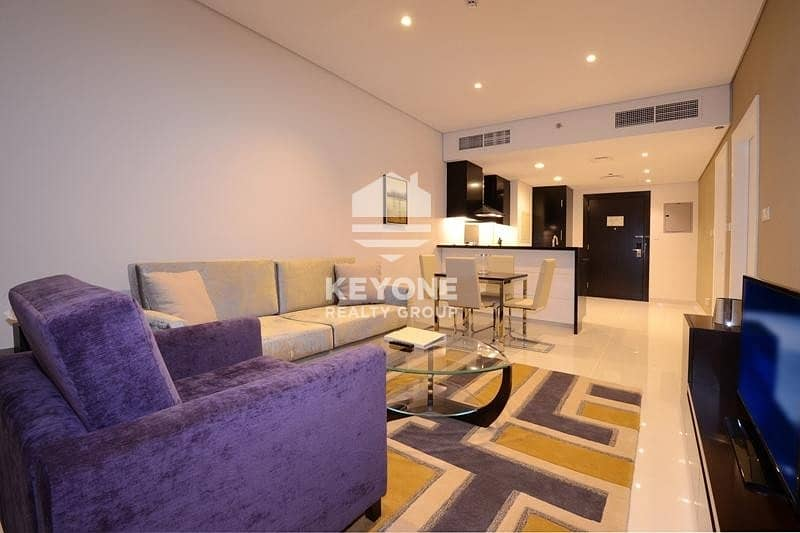 Elegant  | 1 Bedroom | Rent 60K | Canal  Pool View