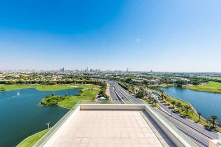 بنتهاوس 5 غرف نوم للايجار في التلال، دبي - Penthouse   Golf Course View   Very Spacious