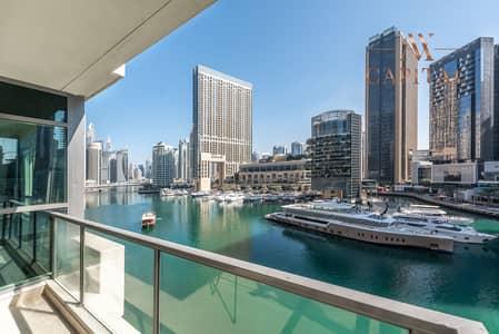 شقة 3 غرف نوم للايجار في دبي مارينا، دبي - Spectacular Marina View | Spacious unit | Vacant
