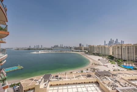 3 Bedroom Apartment for Sale in Palm Jumeirah, Dubai - Beach Access | Spacious Balcony | Unfurnished
