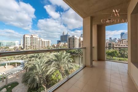 فلیٹ 3 غرف نوم للايجار في ذا فيوز، دبي - Duplex Type | 2 Big Balconies | Full Lake View
