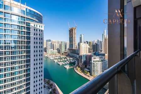 2 Bedroom Apartment for Rent in Dubai Marina, Dubai - Unfurnished | Marina View | Spacious Apt