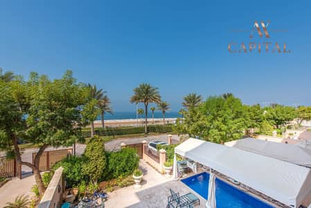 4 Bedroom Flat for Sale in Palm Jumeirah, Dubai - Private Pool | Panoramic Sea View | Luxury Furnished
