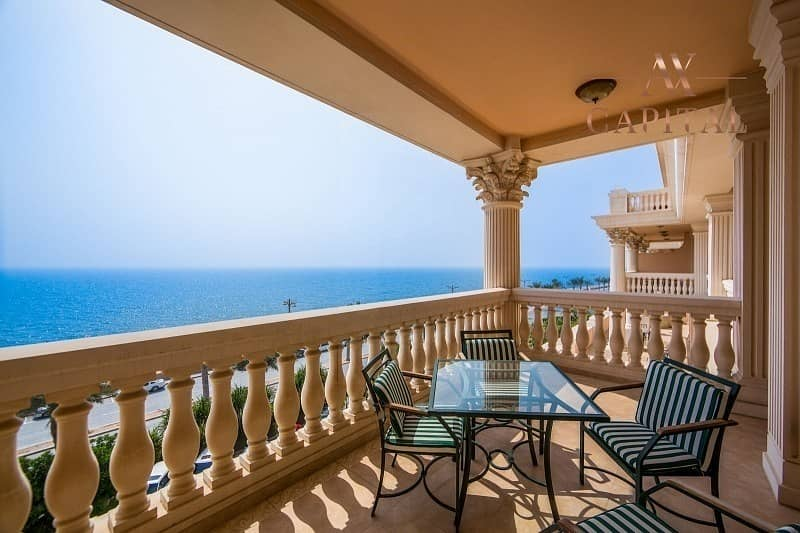 10 Beach Access   Panoramic Sea View   Furnished