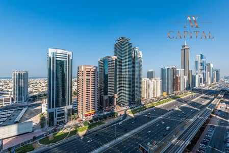 3 Bedroom Apartment for Rent in Sheikh Zayed Road, Dubai - Spacious | Closed Kitchen | Unfurnished