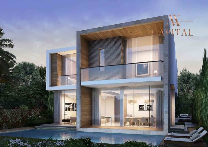 5 Resale | 5 Bed Golf & Lake View | Fendi Interior