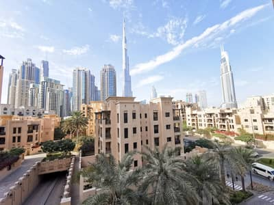 1 Bedroom Apartment for Rent in Old Town, Dubai - Spacious 1 BR | Burj Views | Furnished | Chiller Free