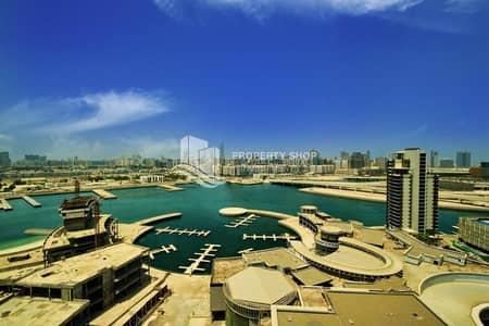 شقة 1 غرفة نوم للايجار في جزيرة الريم، أبوظبي - Hot Deal! Move In Furnished Sea View Relaxing Lifestyle Retreat