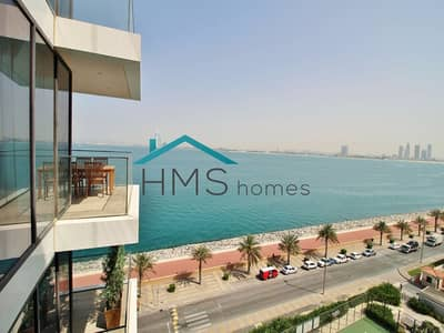 فلیٹ 1 غرفة نوم للايجار في نخلة جميرا، دبي - Sea view | Cosy space | Available and vacant now