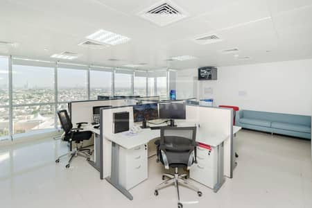 Office for Rent in Jumeirah Lake Towers (JLT), Dubai - Fitted Office | Partitioned | JBC 2 | DMCC | JLT