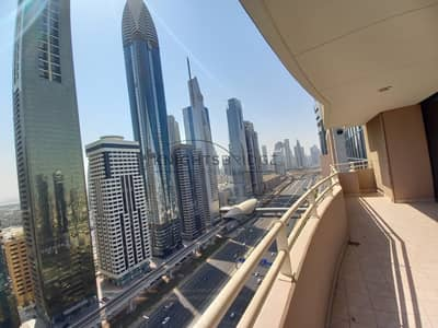 2 Bedroom Flat for Rent in Sheikh Zayed Road, Dubai - 1 Month Free l Chiller Free l 2 Bedroom