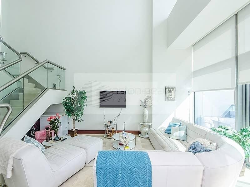 Vacant High Floor 3 BR Maids |  Zabel / Burj Views