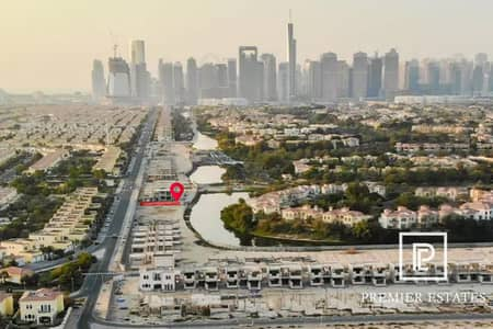 Plot for Sale in Jumeirah Park, Dubai - Lake facing Plots in JP with a 3 Yrs payment plan