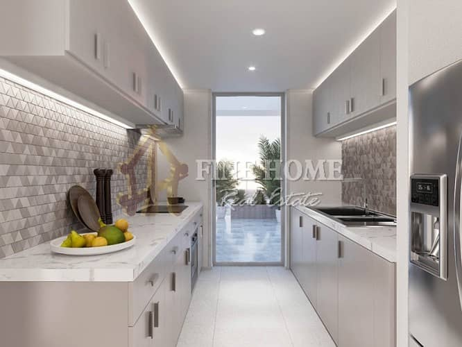 2 Stylish & Modern Corner Facing 2BR in Al Mahra