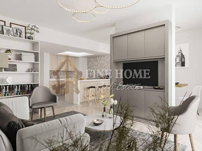 16 Stylish & Modern Corner Facing 2BR in Al Mahra