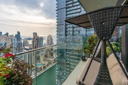 4 Bedroom Penthouse for Sale in Dubai Marina, Dubai - Genuine Luxury Duplex Penthouse | Full Marina View