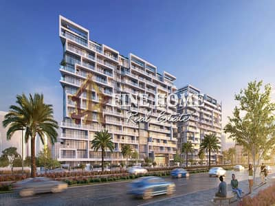 3 Bedroom Apartment for Sale in Yas Island, Abu Dhabi - 40% Discount_0 Comm_Flexible Pymt | Pool View