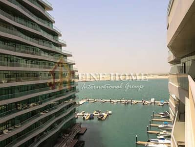 1 Bedroom Apartment for Sale in Al Raha Beach, Abu Dhabi - Amazing Sea View Apartment w Huge Balcony