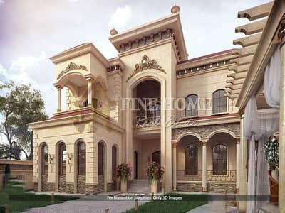 فیلا 4 غرف نوم للبيع في حدائق الراحة، أبوظبي - For Sale Villa   4 BR   Swimming Pool   Garden