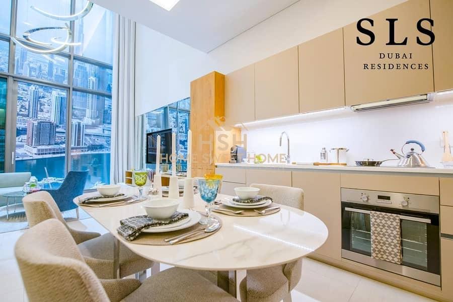 1BR Branded Residences |Highest Standard| SLS Dubai Hotel & Residences