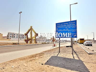 Plot for Sale in Mohammed Bin Zayed City, Abu Dhabi - BIG Residential Land | plot area: 60,000 Sq.Ft
