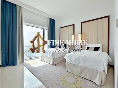 فلیٹ 2 غرفة نوم للبيع في مارينا، أبوظبي - sea view ! Fully Furnished Home W 5-Year Plan