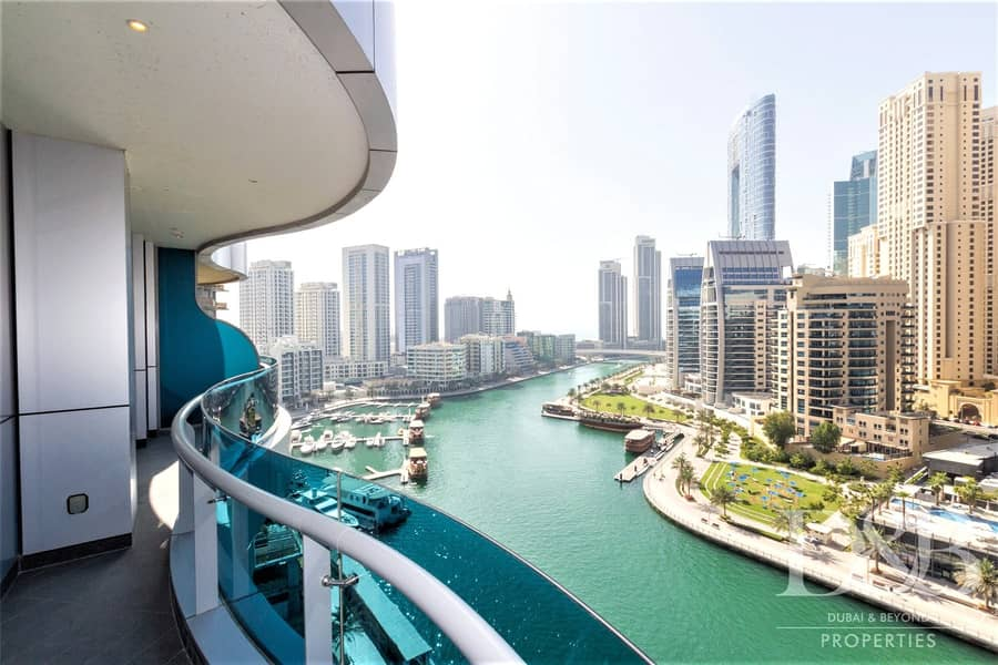 Furnished | Stunning Marina Views | Ready To Move