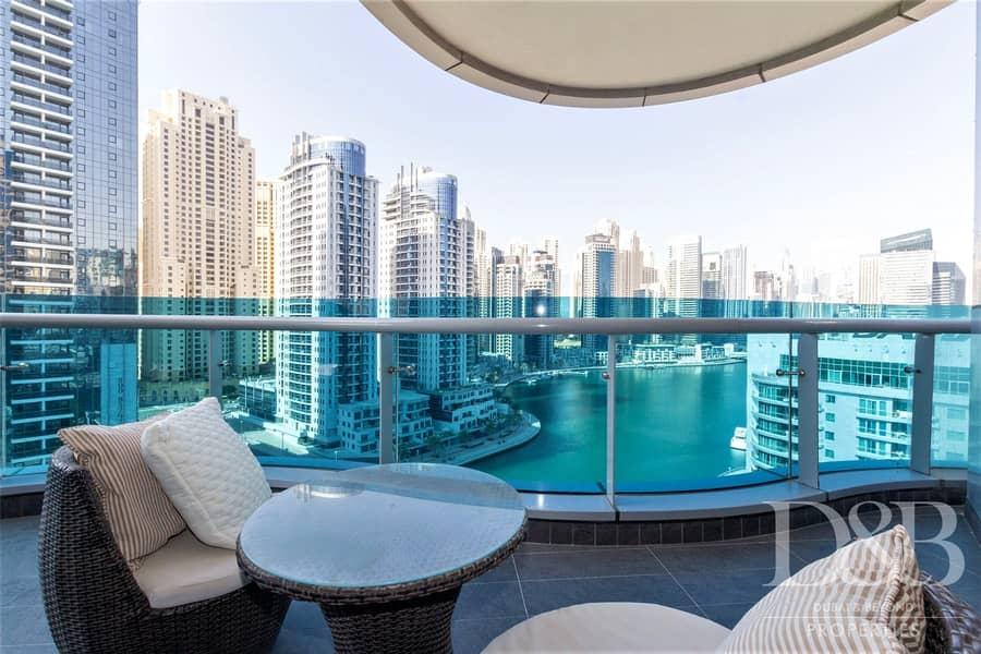 2 Furnished | Stunning Marina Views | Ready To Move