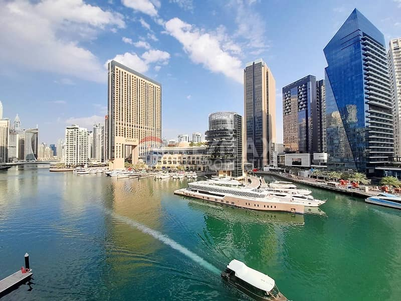12 Amazing 3 beds + Maids | Marina Quays| Marina View