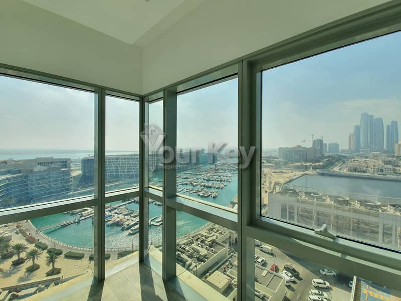 2 Beds and maid Amazing Sea Views